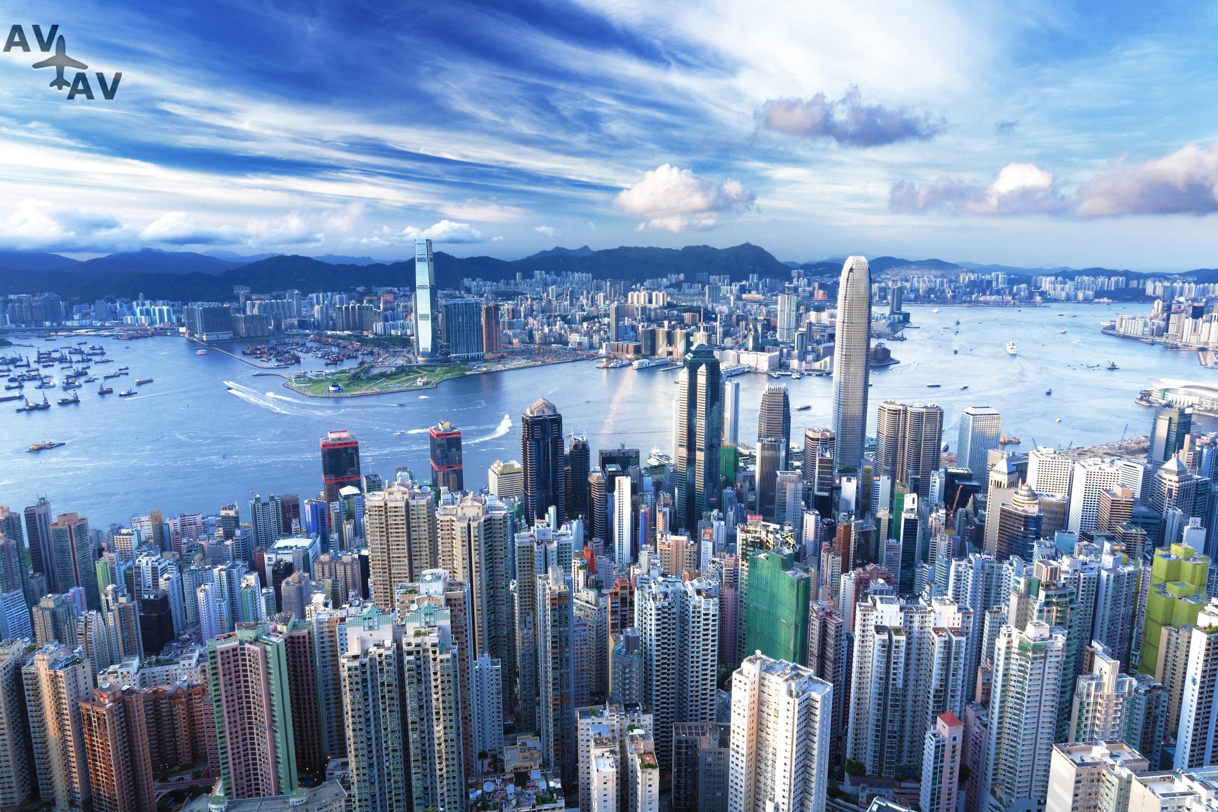 Gonkong territoriya zhizni - Гонконг - территория жизни