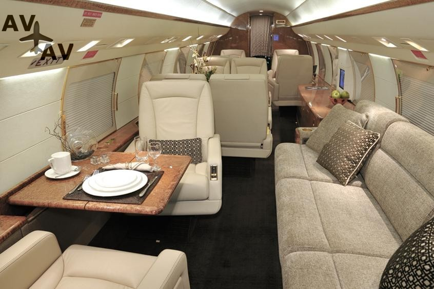 Gulfstream G2 PrivateFly AA9850 - Charter a Gulfstream G2 - Аренда
