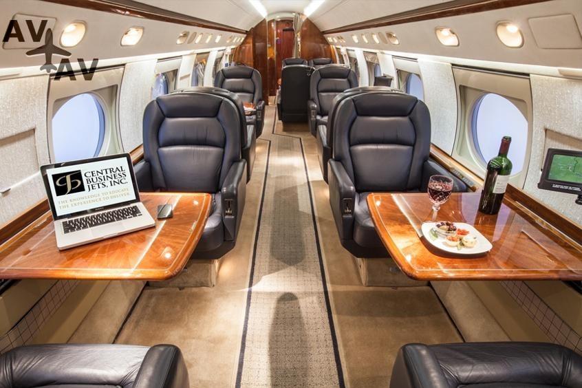 Gulfstream G3 PrivateFly AA9853 - ЗАФРАХТОВАТЬ GULFSTREAM G3 - Аренда