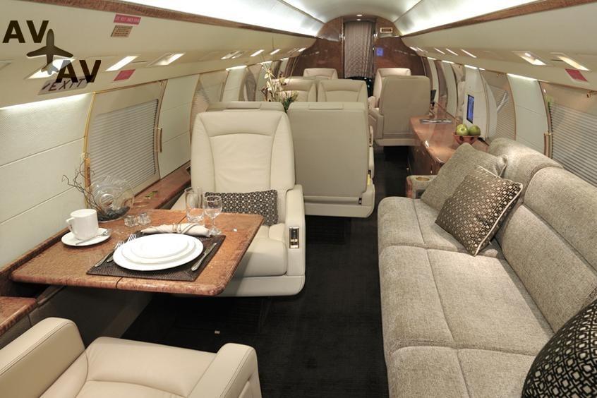 Gulfstream G3 PrivateFly AA9855 - ЗАФРАХТОВАТЬ GULFSTREAM G3 - Аренда