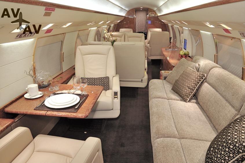 Gulfstream GIV PrivateFly AA9813 - Charter a Gulfstream GIV - Аренда