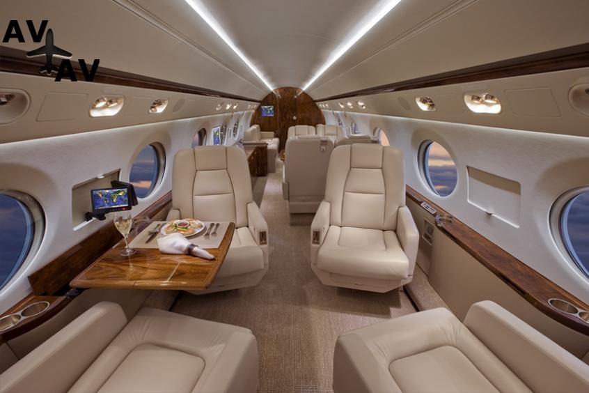 Gulfstream GV PrivateFly AA9809 - ЗАФРАХТОВАТЬ GULFSTREAM GV - Аренда