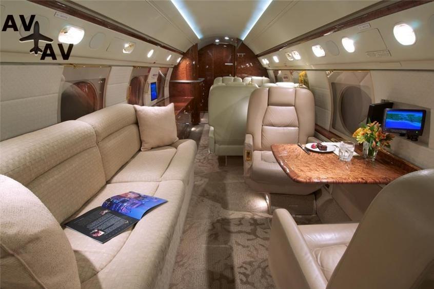 Gulfstream GV PrivateFly AA9811 - ЗАФРАХТОВАТЬ GULFSTREAM GV - Аренда