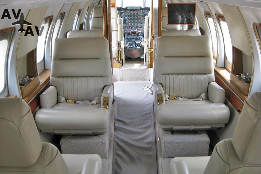 Jetstar 8 PrivateFly AB1199 - Charter a Jetstar 8 - Аренда