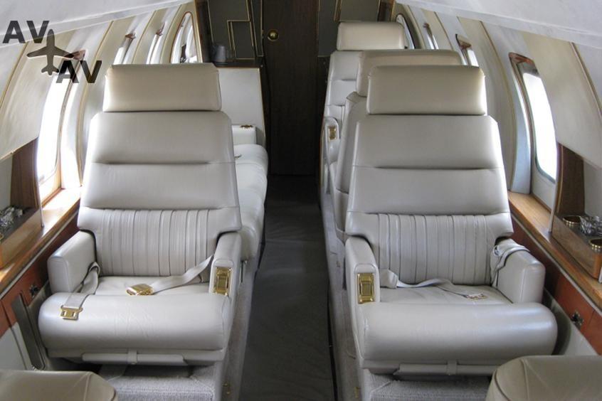 Jetstar 8 PrivateFly AB1201 - Charter a Jetstar 8 - Аренда