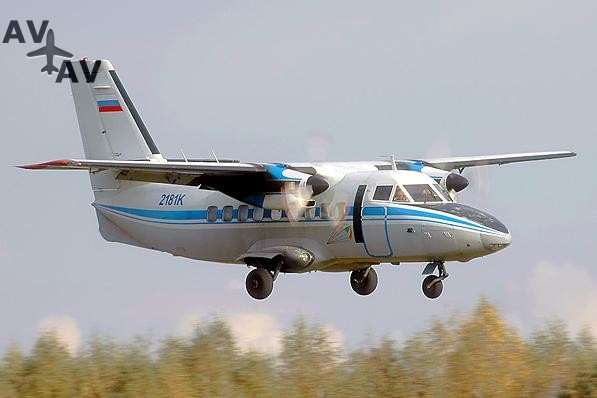 Let 410 Let 420 PrivateFly AA1519 - Charter a Let 410 / Let 420 - Аренда
