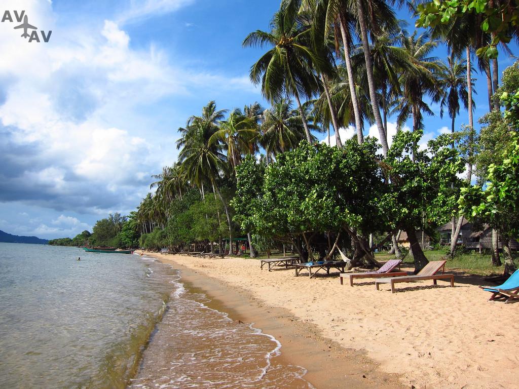 Luchshie kurortnyie mesta v Kambodzhe - Лучшие курортные места в Камбодже