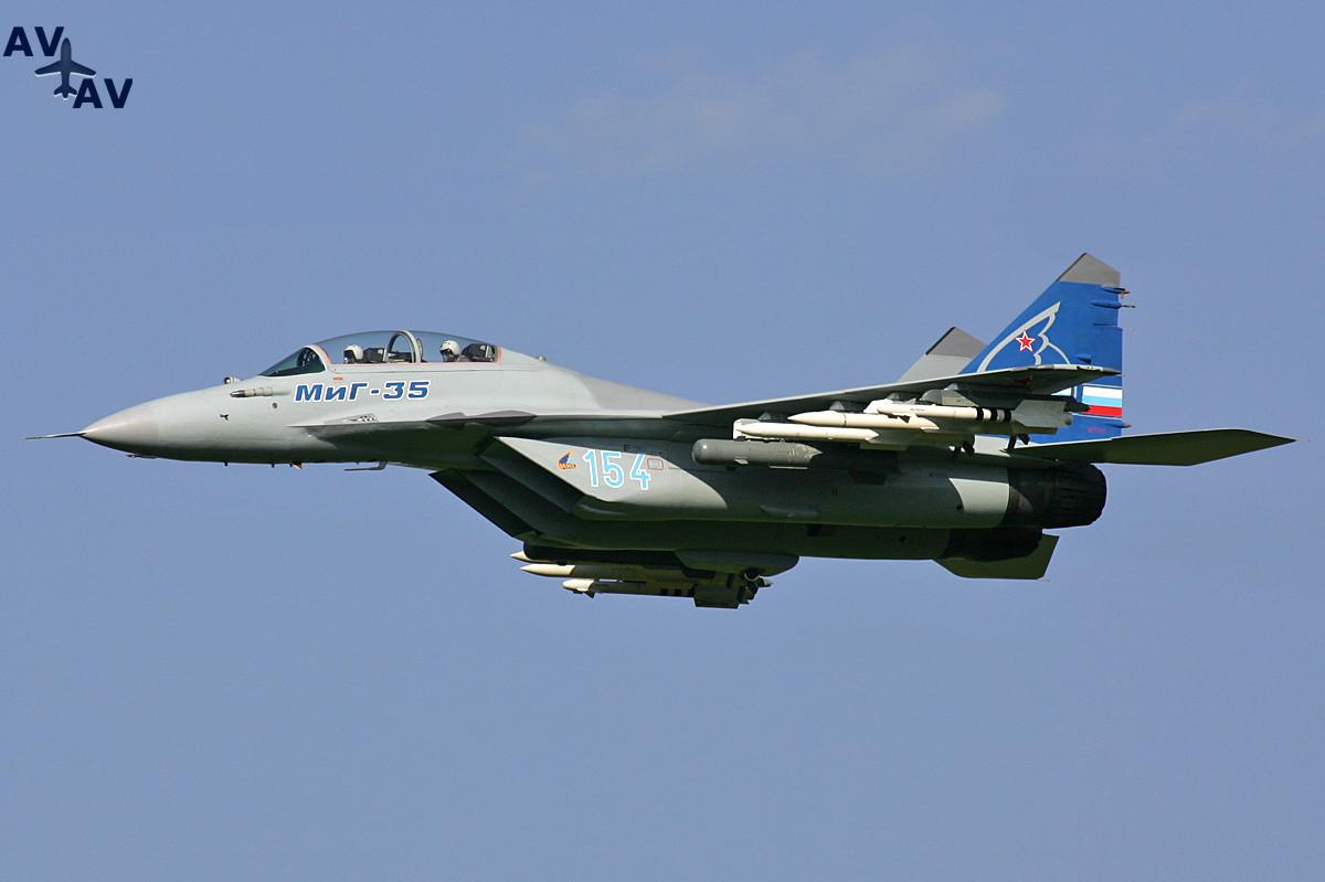 Корпорация МиГ повысит объемы производства МиГ-35