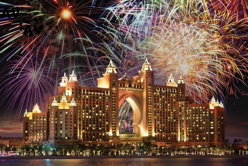 Новогодняя ночь в ОАЭ