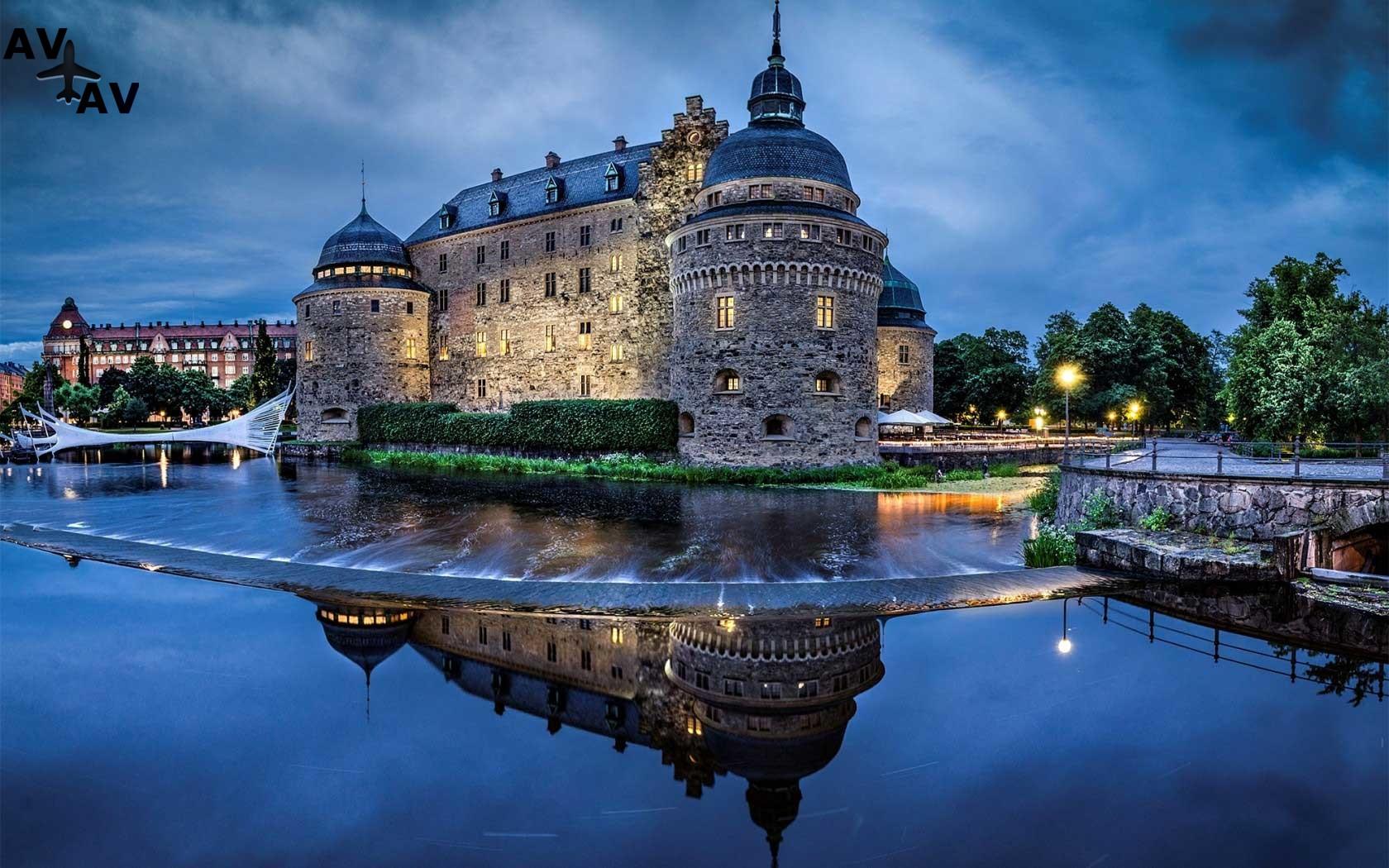 Prekrasnyiy otdyih i krasivyie mesta v SHvetsii - Прекрасный отдых и красивые места в Швеции