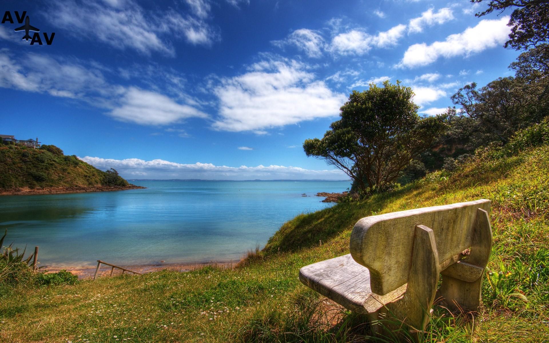 Prirodnyie dostoprimechatelnosti Novoy Zelandii - Природные достопримечательности Новой Зеландии