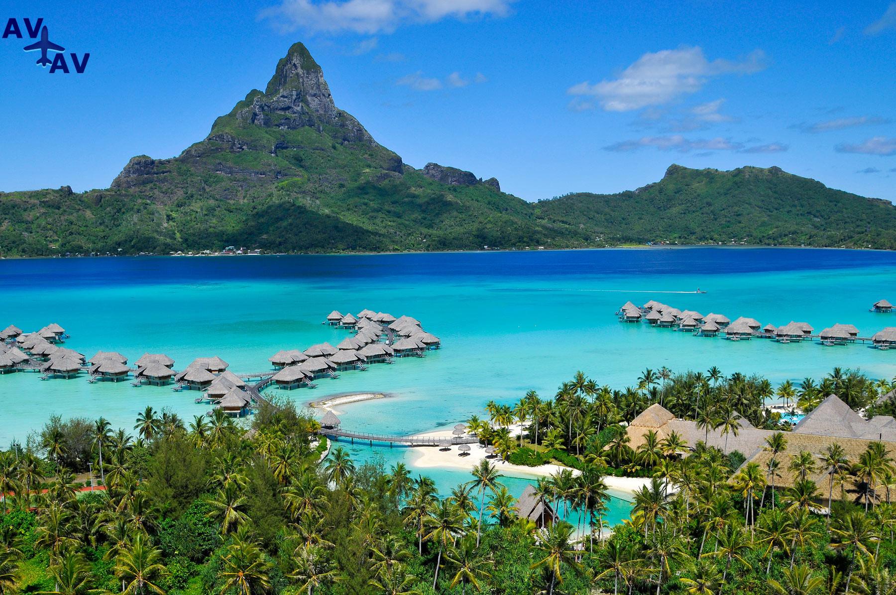 Roskoshnyiy ostrov Taiti - Роскошный остров Таити
