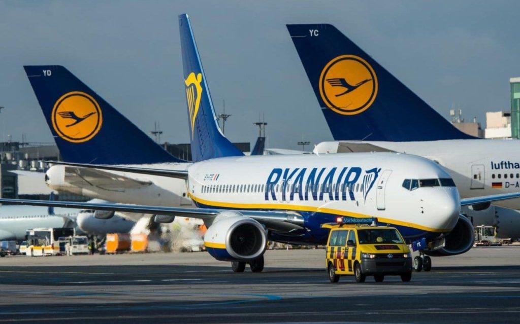 Ryanair 1 1024x639 - Акции авиакомпании Ryanair продолжили снижение
