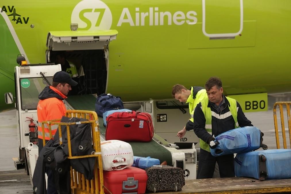 S7 Airlines 2 - Пассажиры S7 Airlines смогут самостоятельно зарегистрировать багаж