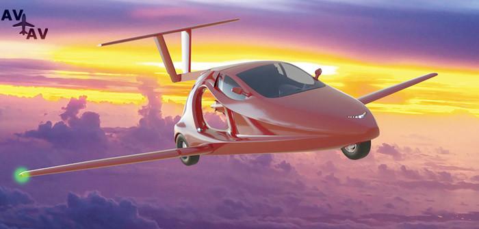 Switchblade Flying Car - Американская компания разрабатывает летающий спорткар