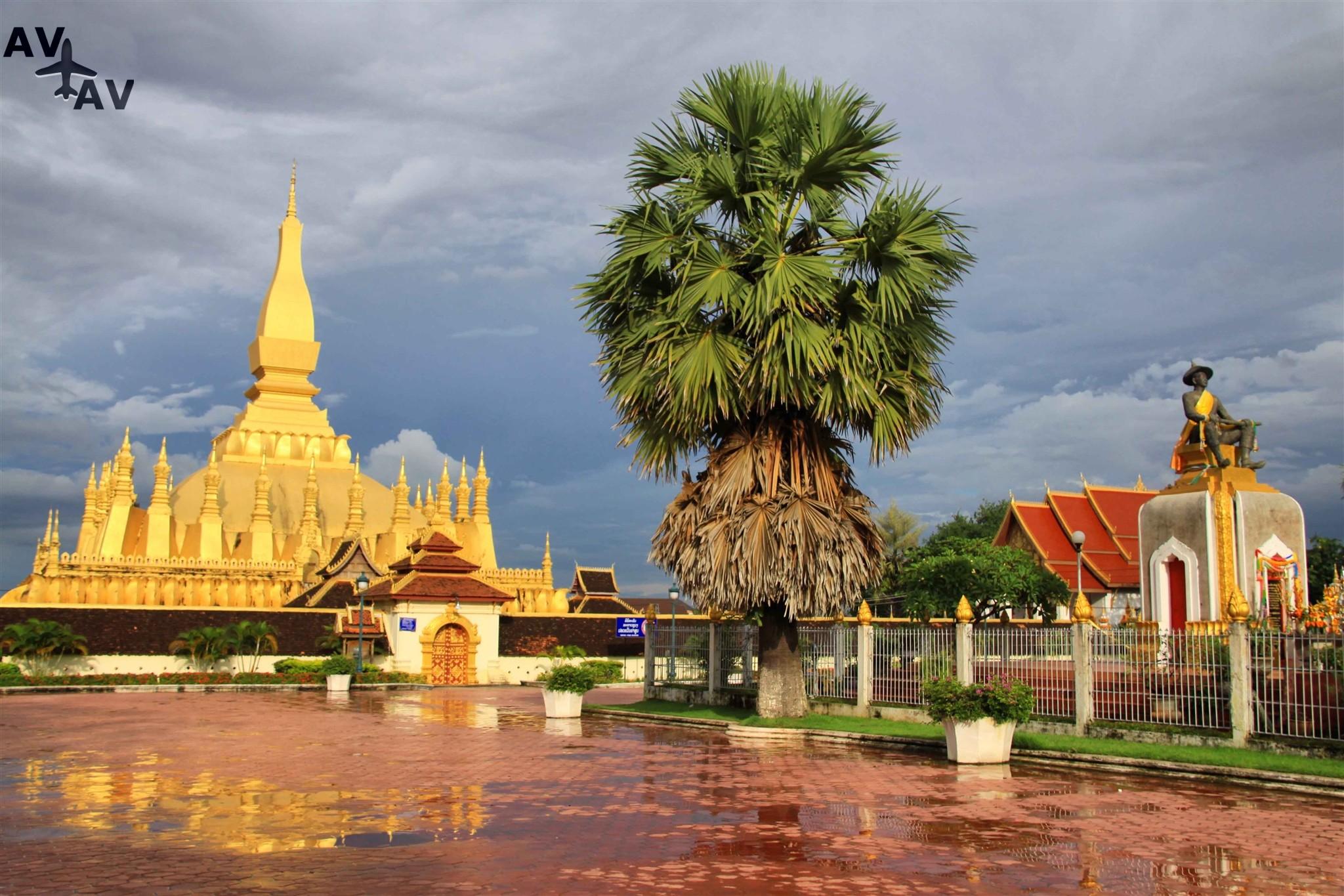 Tayskaya viza v Laose - Тайская виза в Лаосе