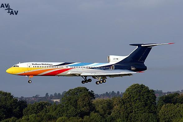 Tu154 PrivateFly AA1623 - Charter a Tu154 - Аренда
