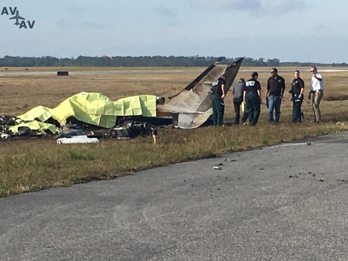 abd ucak kazasi florida - Крушение самолета во Флориде: пять человек погибли