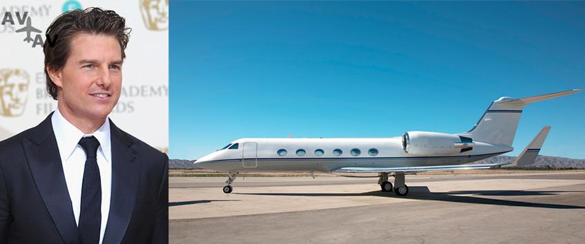 bin 1 - Том Круз и его Gulfstream IV