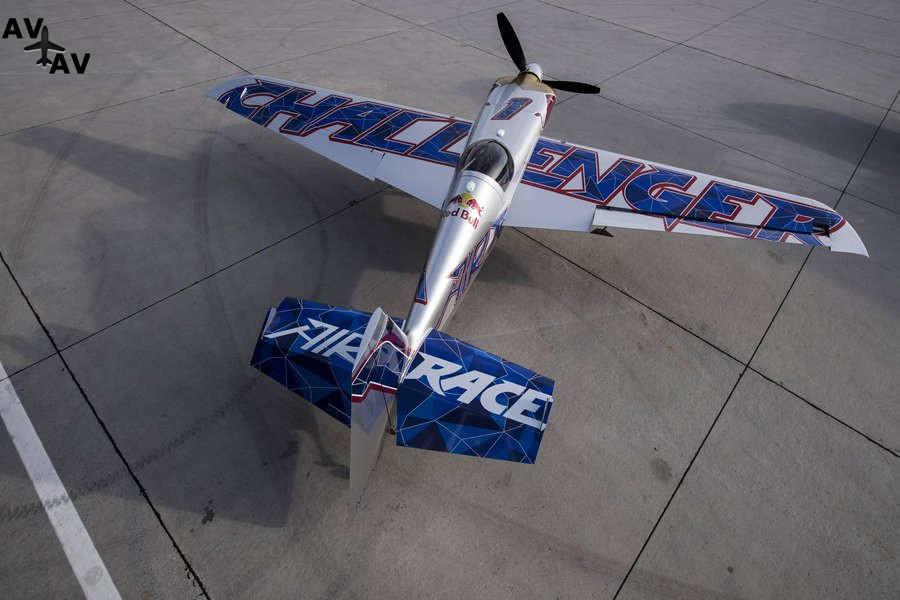 edge 540 v2 2018 challenger cup - Новое качество Red Bull Air Race - самолет  Edge 540 V2