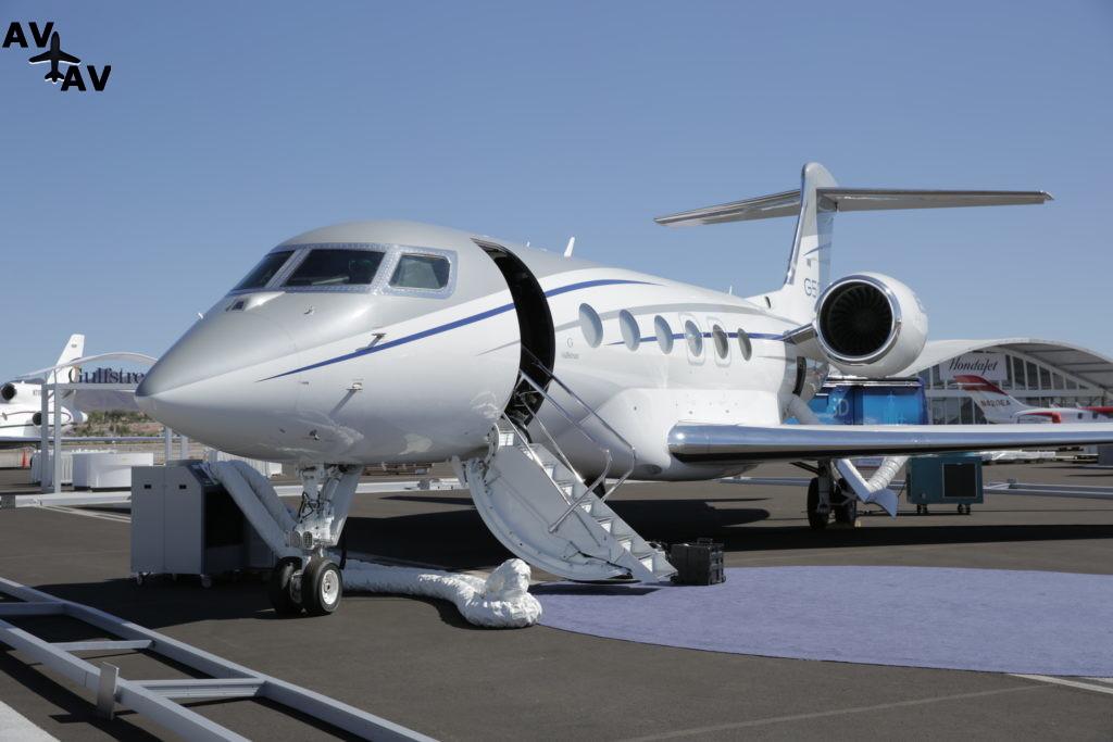 Gulfstream V G500 и Стив Джобс