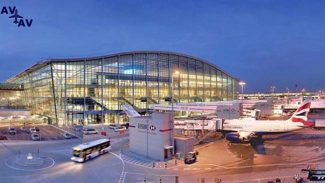 hitrou airport - На крыше аэропорта Хитроу построили иглу