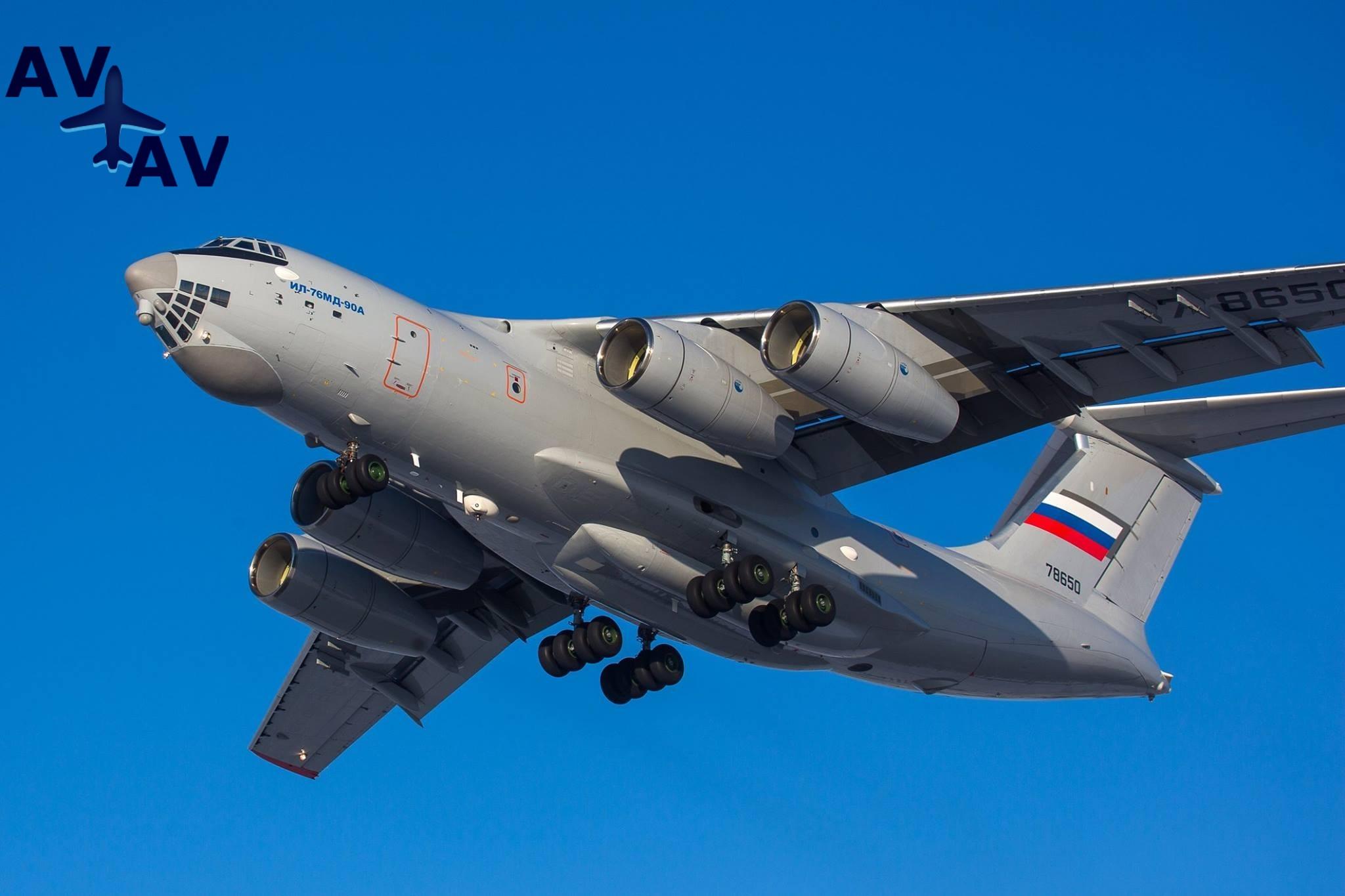 il 76md 90a - Самолет Ил-476 будет собираться отечественными роботами