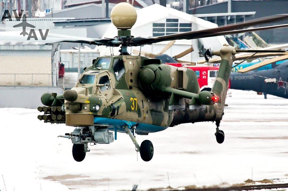 mi 28nm - Обновленный вертолет Ми-28НМ поступит на вооружение России