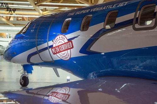 PC-24 Super Versatile Jet с Сертификатами Типа