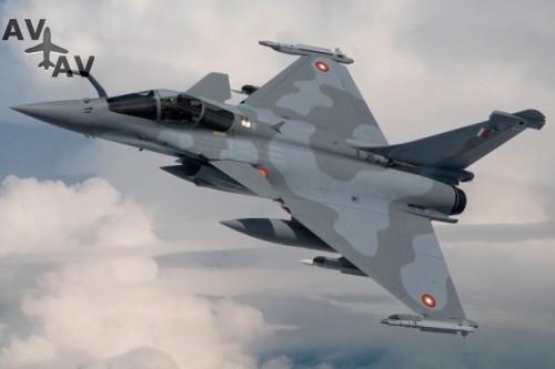 rafale 1 - Визит Эммануэя Макрона в Катар принес плоды французским авиапроизводителям