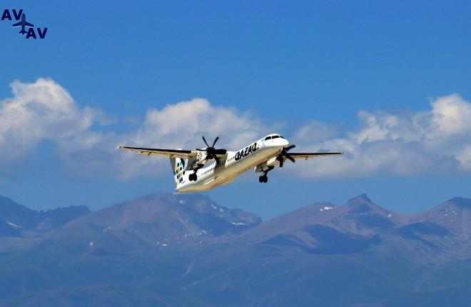 222 - Qazaq Air расширит парк за счет 2 самолетов Bombardier Q-400NG