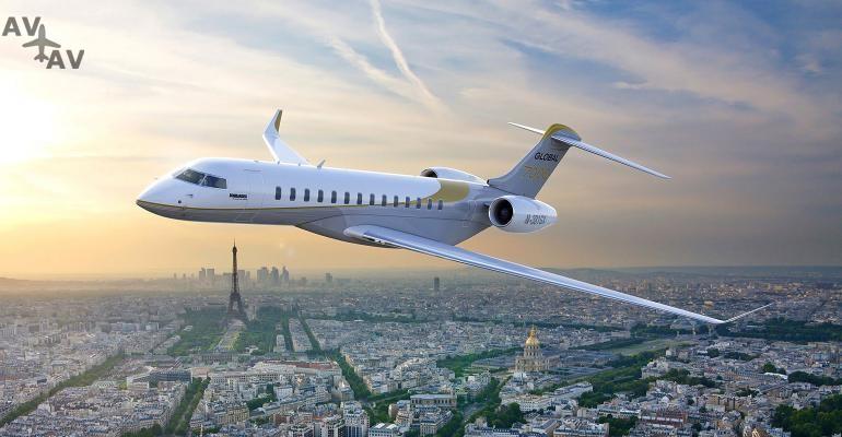 BombardierGlobal7000 800 - Авиакомпания Bombardier демонстрирует новый самолет бизнес-класса