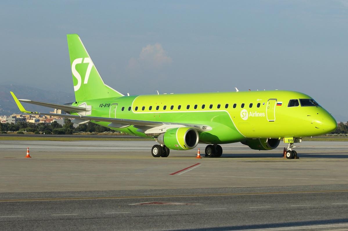 Embraer 170 - Распродажа авиабилетов от S7 Airlines