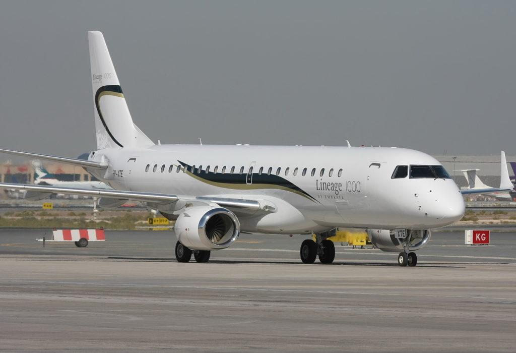 Embraer ERJ 190 100ECJ Lineage 1000 1024x700 - 6 самых дорогих самолетов мира, доступных для чартера