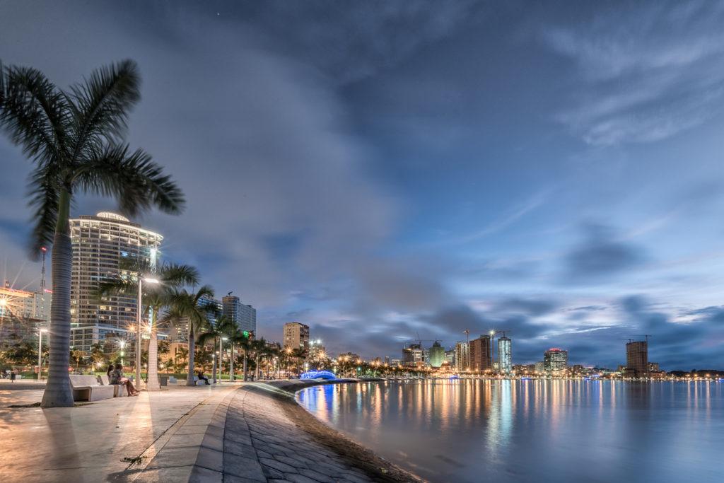 Луанда, Ангола. Luanda's waterfront. Angola