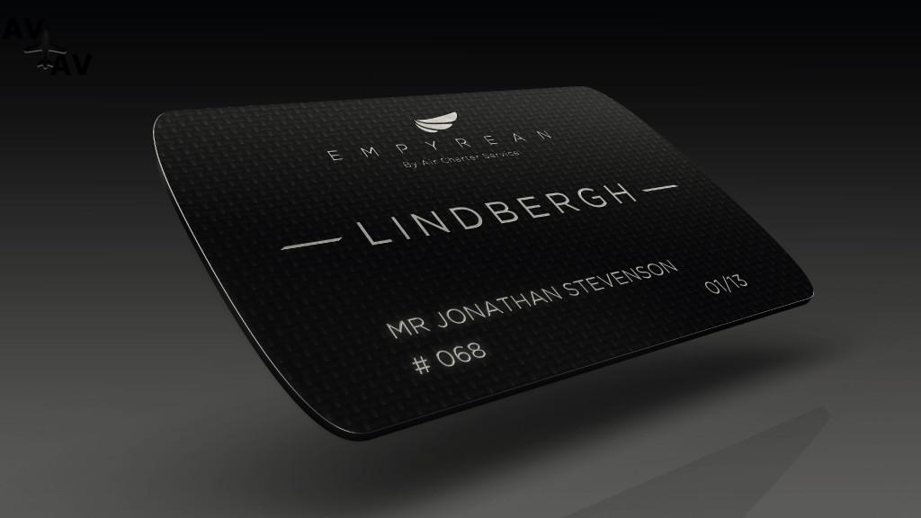 Lindbergh Jet card by Air Charter Service tcm50 3311 - Во что обходятся частные самолеты: покупка, содержание, ремонт