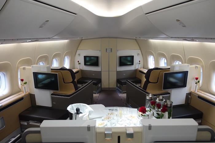 Lufthansa 748 First Class 4 - Как выглядит первый класс в самолетах личших авиакомпаний