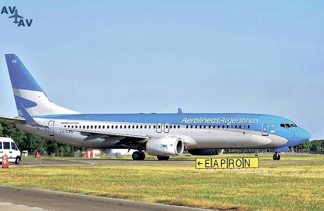 aerolineas argentinas - Аргентина готова развивать инфраструктуру авиатранспорта