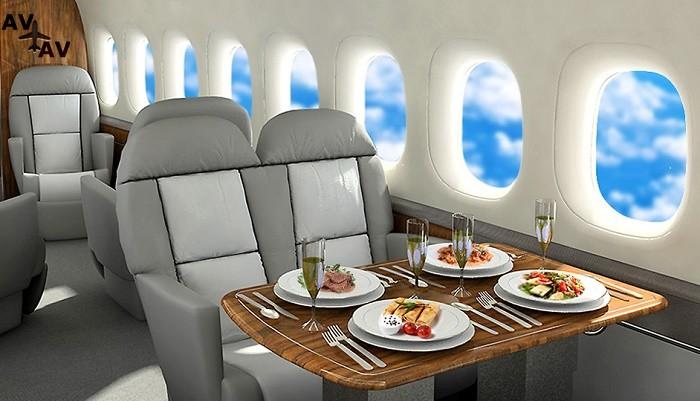 aviac - VIP-питание на борту чартера