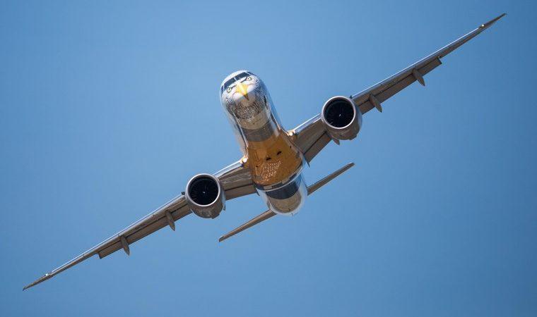 Новый самолет Embraer показал лучшие характеристики, чем расчетные