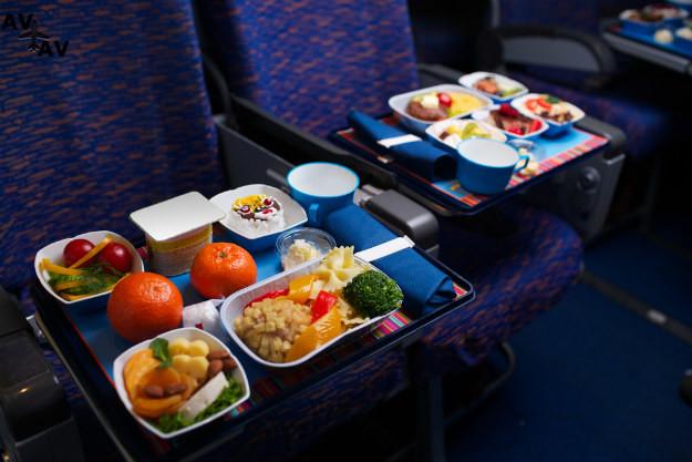 flight food - Питание бизнес-класса в самолете