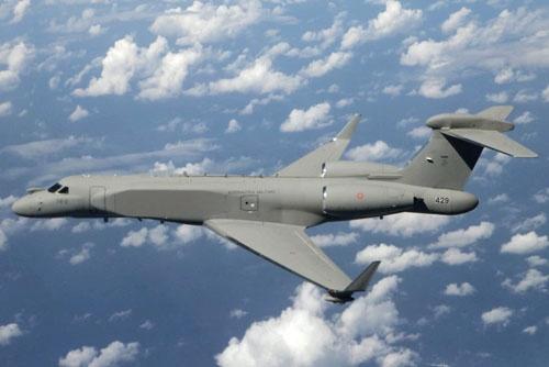 g550caew - Военный самолет на базе делового?  Это возможно!