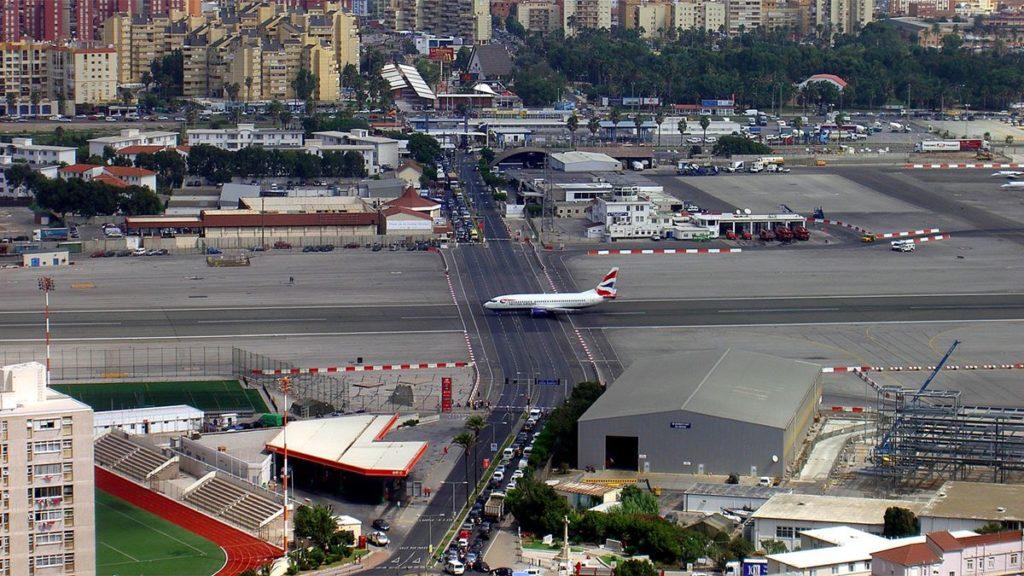 Аэропорты Гибралтар