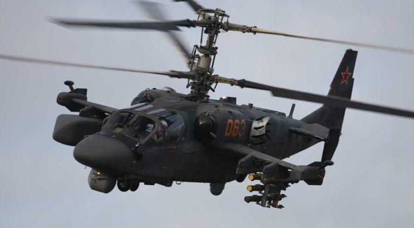 Вертолеты Ка-52 «Аллигатор» на страже Кубани