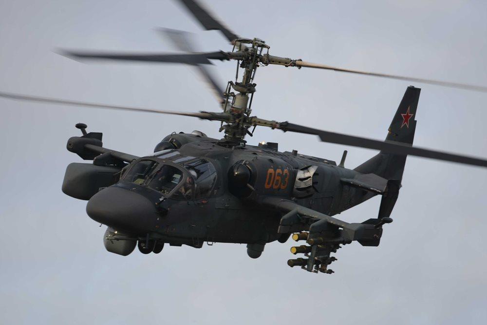 ka 52 - Вертолеты Ка-52 «Аллигатор» на страже Кубани