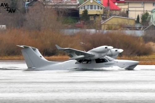 """l72czajka - Закончены первые испытания амфибии  Л-72 """"Чайка"""""""