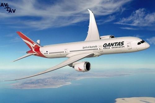 qantas 787 92 - Австралия возобновила выдачу рабочих виз иностранным пилотам из-за не хватки летных экипажей