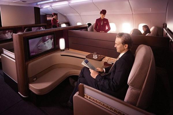 viajar en primera clase de qatar airways 7.jpg.imgw .1280.1280 - Как выглядит первый класс в самолетах личших авиакомпаний