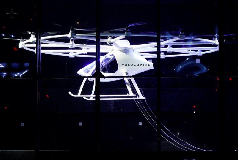 Первый полет Volocopter в США