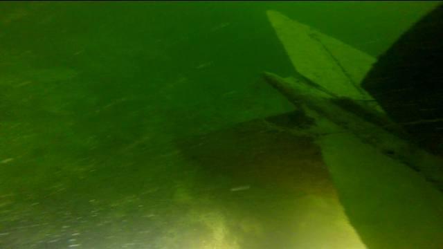 wrak - Сенсационная находка в озере под Щецином -  истребитель МиГ-15